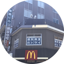 マクドさんがあるビルの 6階です